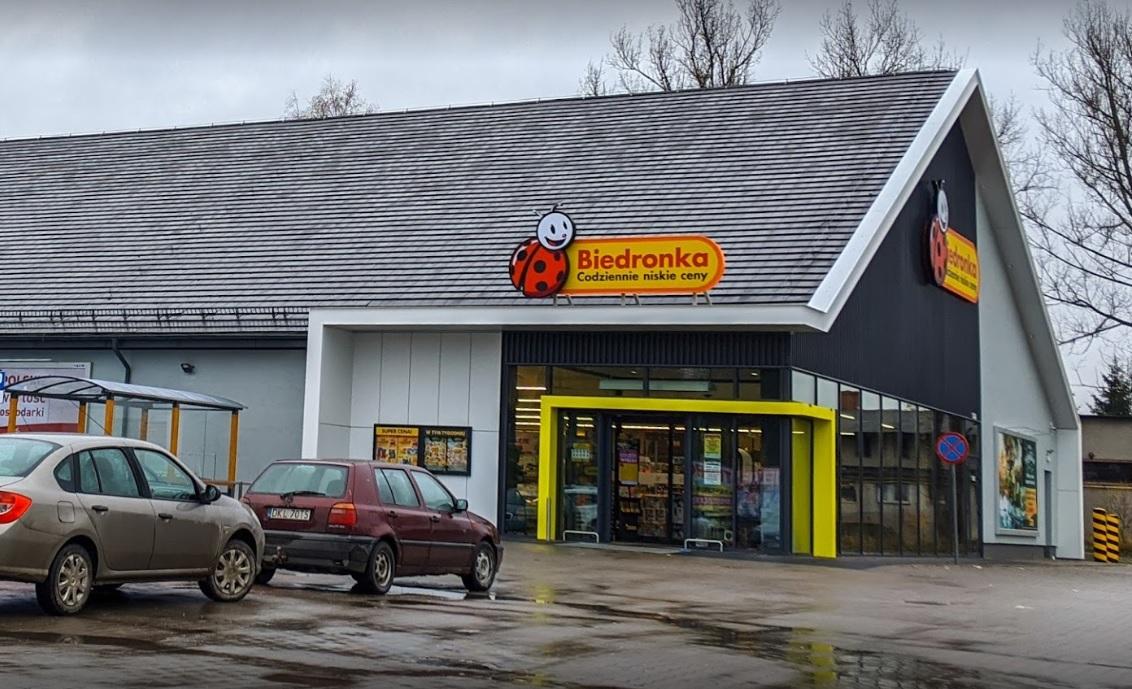 Na nákup do Biedronky v Polsku - 15km od vily